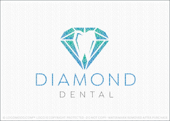 Diamond Dental Practice Logo For Sale