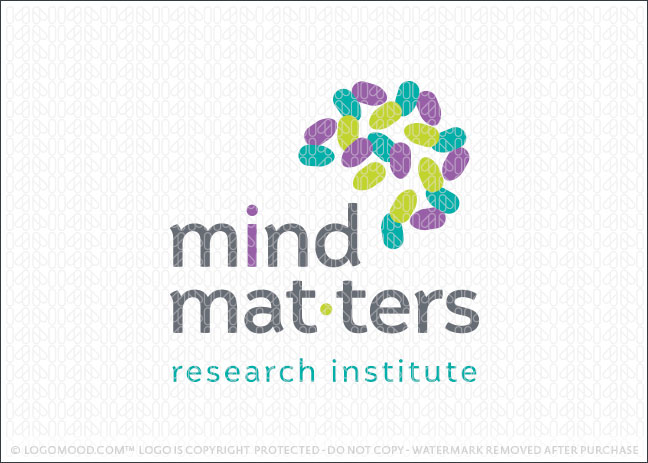 Mind Matters Abstract Brain Mind Logo For Sale