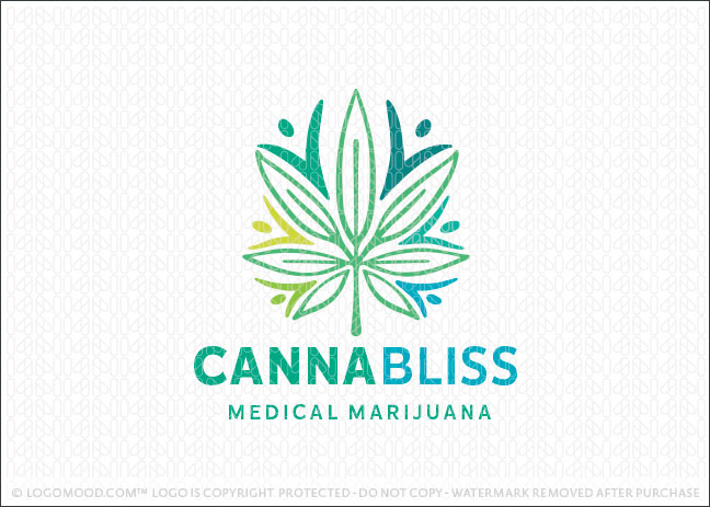 Canna Bliss Medical Marijuana Logo For Sale