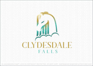 Clydesdale Falls Horse