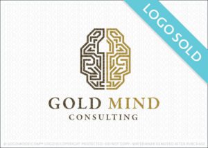 Gold Mind Consulting Logo Sold