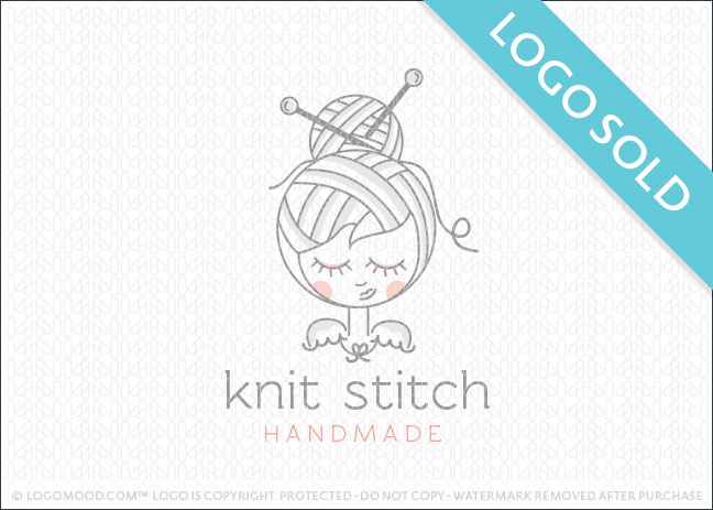 Knit Stitch Handmade Logo Sold