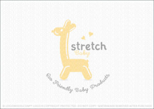 Baby Giraffe Ballon Animal Logo For Sale