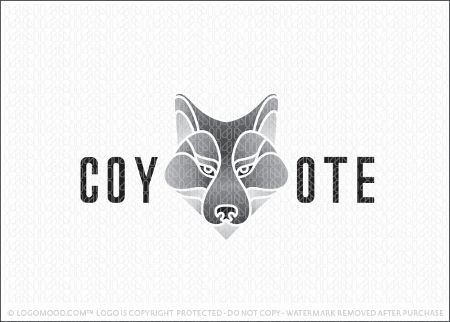Grey Coyote Logo For Sale