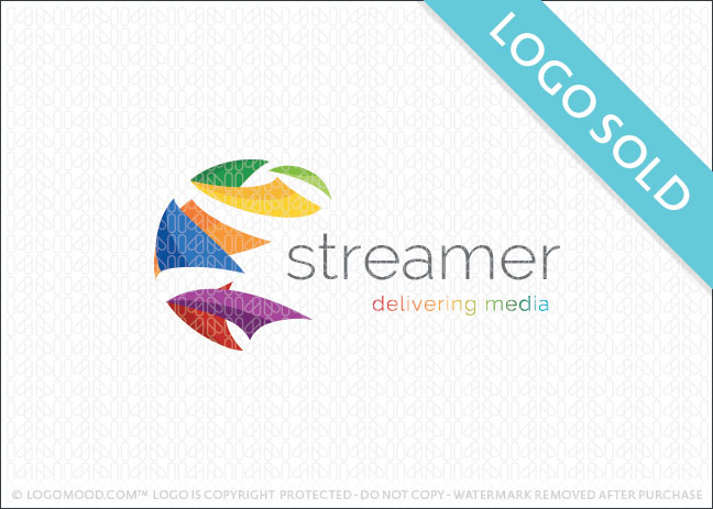 Streamer Logo Sold