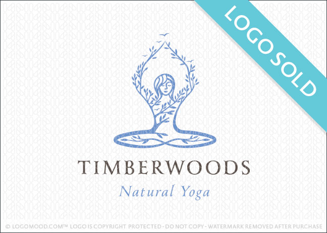 Timberwoods Natural Yoga Logo Sold
