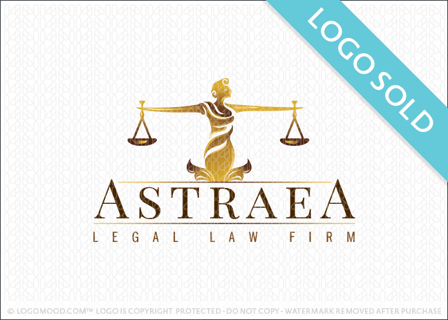 Astraea Legal Law Firm Logo Sold
