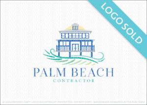 Palm Beach Contractor Logo Sold