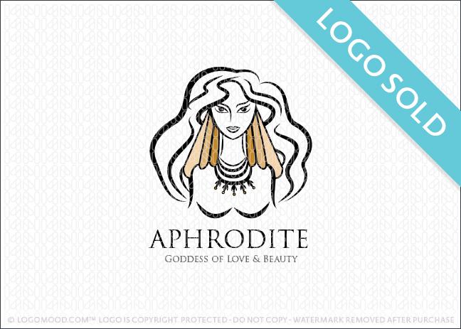 Aphrodite Goddess Logo Sold