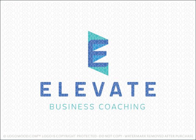 Letter E Monogram Logo For Sale