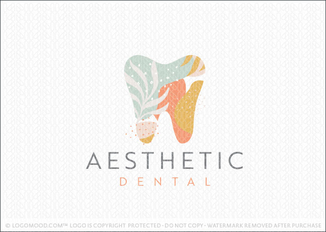 Aesthetic Dental | Readymade Logos for Sale