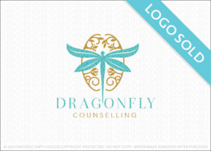 Dragonfly Brain Logo Sold