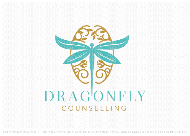 Dragonfly Brain Neurological Behavioural Counselling Logo For Sale