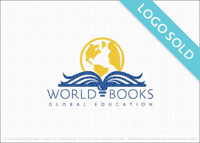World Books Logo Sold