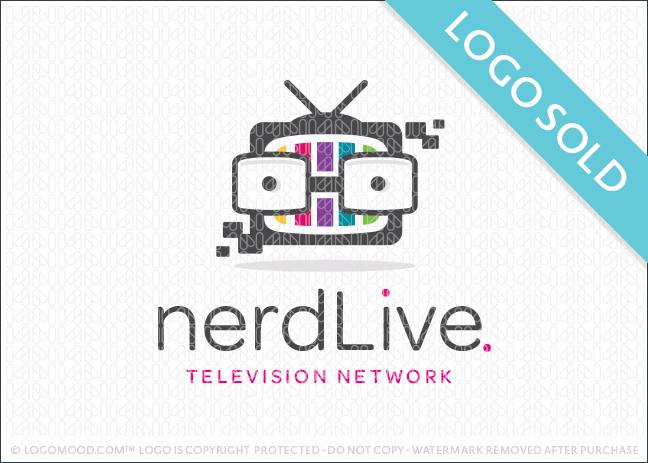 Nerd Live TV Logo Sold