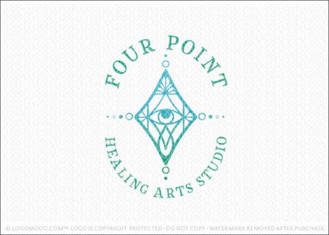 Diamond Holistic Spiritual Eye Logo For Sale