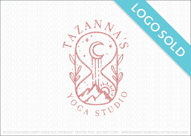 Tazanna Yoga Studio Logo Sold