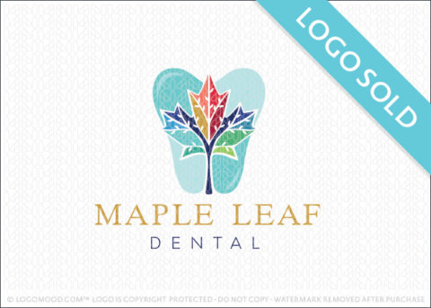 Maple Leaf Dental Logo Sold