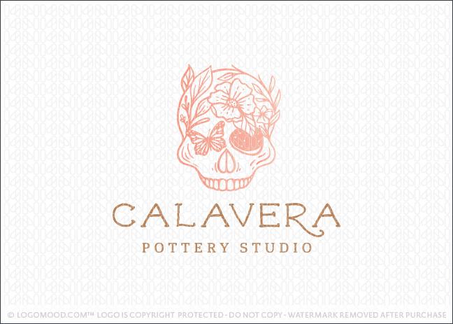 Calavera Floral Skull