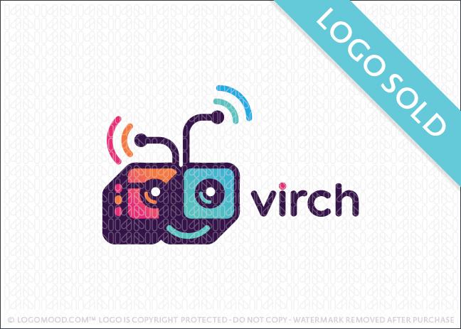 Virch Robot Logo Sold