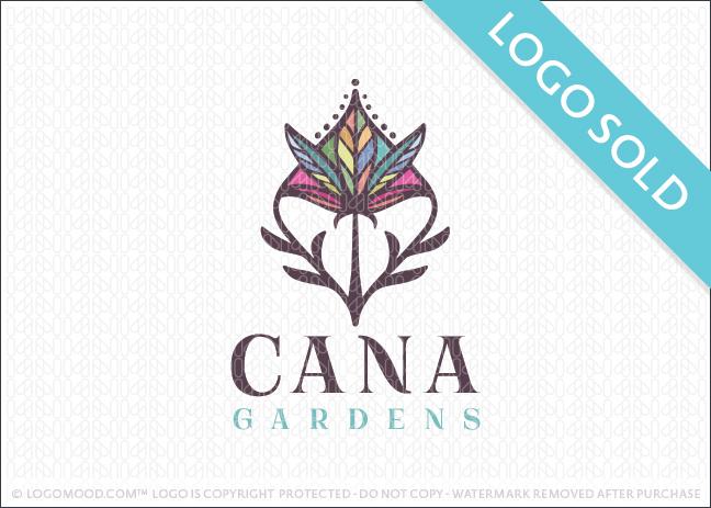 Cannabis Gardens Logo Sold