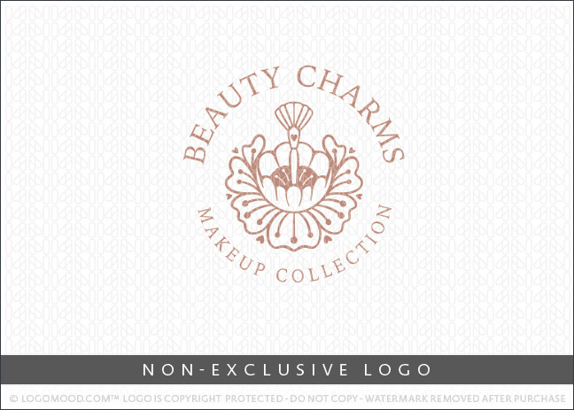 Beauty Charms Floral Flower Makeup – Non Exclusive Logo