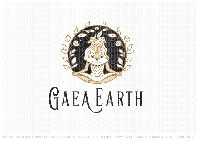 Gaea Earth Woman Goddess