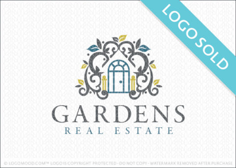 Garden Rea Estate Logo Sold