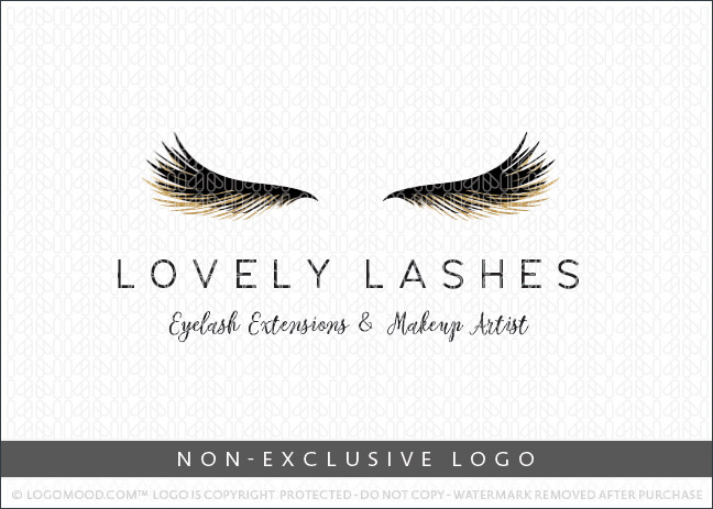 Lovely Lashes Eyelash Extensions & Makeup Artist – Non Exclusive Logo