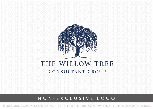 The Willow Tree Non-Exclusive Logo For Sale LogoMood