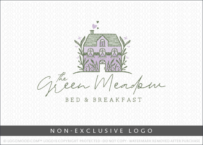 The Green Meadow Cottage – Non Exclusive Logo