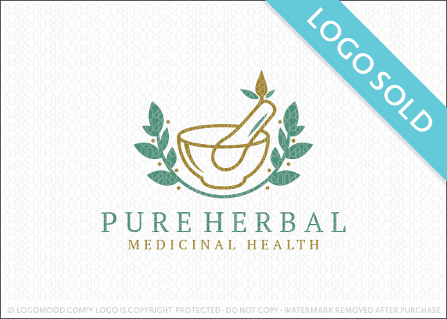 Pure Herbal Logo Sold