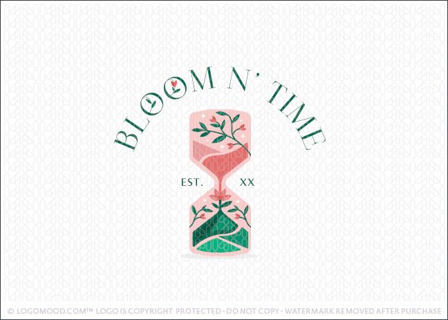 Bloom n' Time Hourglass